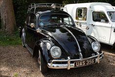 Black Vintage VW Beetle
