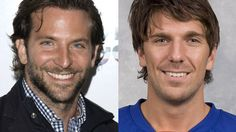 Handsome devils Bradley Cooper, left, and Henrik Lundqvist have both helped their mates out of some jams.