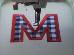 6 steps to embroidering letters