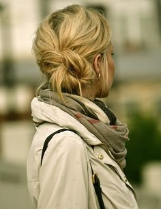 #Messy, #Bun, #Cute, #Quick, #Easy, #Hair, #Hairstyle