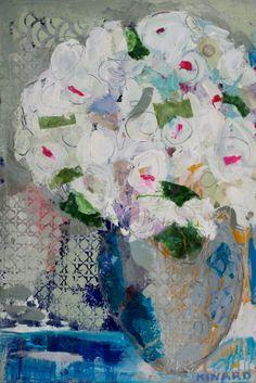 """Shades of Blue"" 36x24 Shain Gallery"