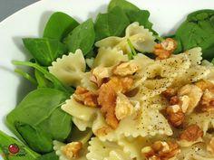 Recette - Pâtes au brie et aux épinards | SOS Cuisine
