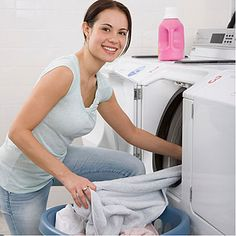 More efficient Laundry - allyou.com add a dry towel in the dryer to help your clothes dry faster.