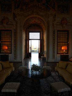 dentro Villa Emo - Vedelago  #TuscanyAgriturismoGiratola