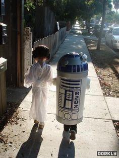 Precious Star Wars costumes