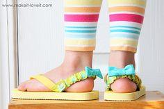 Flip-flop straps