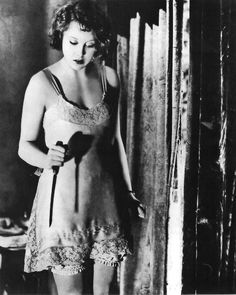 updownsmilefrown:  Anny Ondra in Blackmail, 1929