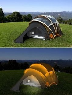 Concept Design for New Tents  get this, its solar
