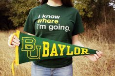 Do you know where you're going? #SicEm #Baylor