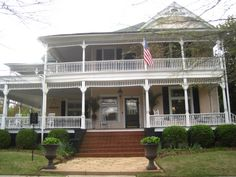 I think this is possibly the front to 46 Jackson Street in Historic Newnan, GA that I've already posted.