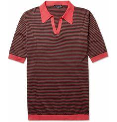 John Smedley Perry Sea Island Cotton Polo Shirt