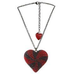 heart necklace, tarina tarantino