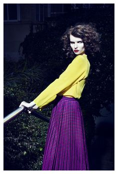 julia field by lea nielsen for tush online | visual optimism; fashion editorials, shows, campaigns & more!
