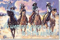 Cowgirls - Saddle Up!