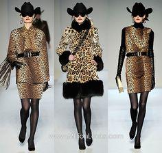 fashion anim, animals, anim print, leopard coat, leopards, animal prints, leopard prints, coats, cowgirl hats