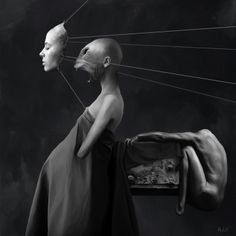 """""""digital art II"""" von Michael Tkatschow– dasauge® Werkschau"""