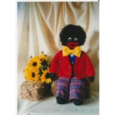 Sam the golliwog golly doll pattern