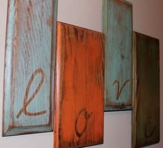 Repurposed cupboard doors