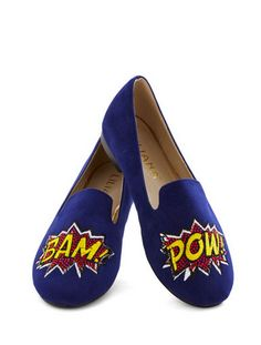 Superhero flats for