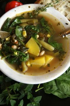 Fall Squash and Veggie Soup