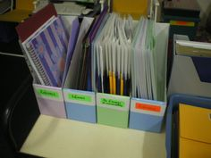 Great Storage Ideas for the Classroom