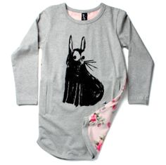 bunni drape, dress greyflor, minti, dresses, curious bunni, aw14, sleev drape, drape dress, grey marl