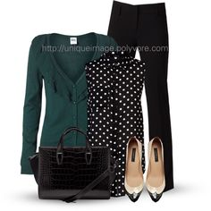 """""""Work Wear #5"""" by uniqueimage on Polyvore"""