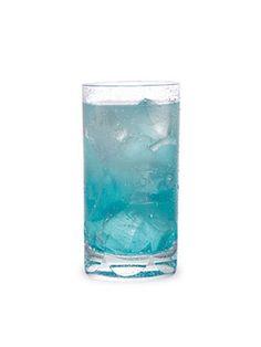 """- """"Boozy Blue Lemonade"""" ..  - Lemonade .. Vodka, & Blue Curacao .."""
