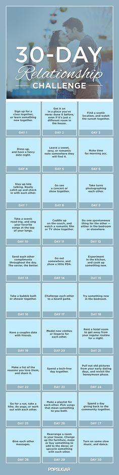30-Day Relationship Challenge