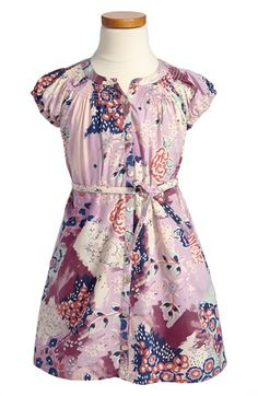 Tea Collection 'Matisse Garden' Shirtdress (Little Girls  Big Girls) available at #Nordstrom