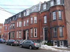 Princess Street, Saint John, New Brunswick.