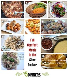 fall slow cooker meals