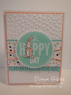 Oh Hoppy Day, www.stampingwithdi.com Starburst Sayings
