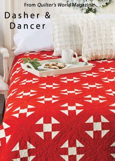 Dasher & Dancer from the Autumn 2013 issue of Quilter's World magazine. Order a digital copy here: http://www.anniescatalog.com/detail.html?prod_id=102562