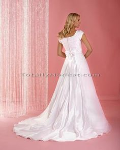 Geri Totally Modest WEDDING, PROM & Bridesmaid dresses with sleeves