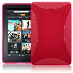 AMAZON KINDLE FIRE TPU GEL SKIN CASE - HOT PINK, WITH MICROFIBRE CLEANING CLOTH --- $0.76 and Less than 3 Dollar shipping.    http://www.pinterest.com.yolo.bz/ch