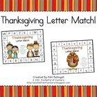 This fun Thanksgiving themed game is a great way to practice letter recognition!  Print the work mats and letter cards.  Place the letter cards in ...