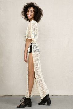Urban Renewal Lace Curtain Kimono Tunic #urbanoutfitters