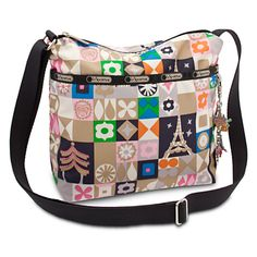 ''it's a small world'' Cleo Crossbody Bag by LeSportsac - ''Global Journey''