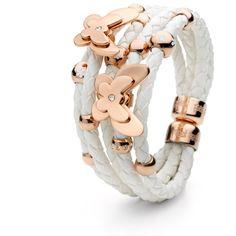 Folli Follie Flowerball Bracelet ($195) ❤ liked on Polyvore