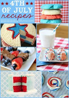 30+ Fourth of July Desserts perfect for Independence Day on { lilluna.com }