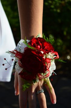 Jack & Taylor ~ Eden Prairie Homecoming 2014 ~ Made by Carver Country Flowers