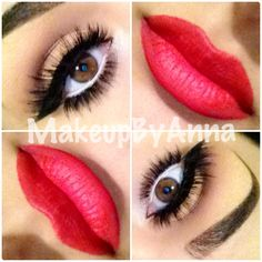 ❤perfect brows! And lips!!
