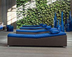 Outdoor Bed InOut 282 From Gervasoni