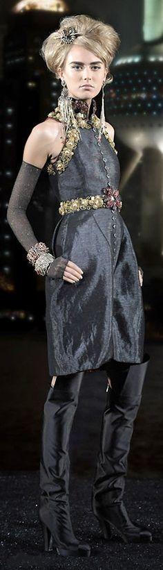 Chanel chanel prefal, houses, fashion, style, gold, coco, black