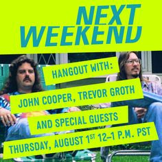 "Join #Sundance Film Festival Director, John Cooper and Director of Programming, Trevor Groth for a conversation with filmmakers David and Nathan Zellner around classic cult-film ""American Movie"" and #Sundance's first-ever LA Festival, #NEXTWEEKEND https://plus.google.com/b/109785996242709447966/events/c7actu87mffv9sa1qrd180mnojk"