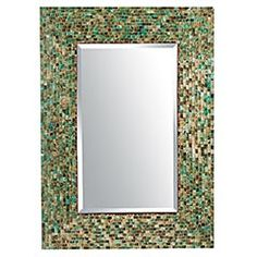 Pier 1: Ocean Mosaic Mirror