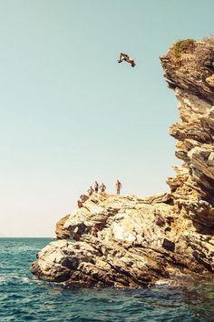 Cliff Jumping. On my bucket list