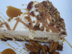 Food Fashion and Flow: Caramel Praline Cheesecake