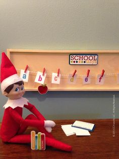 Elves love to learn!